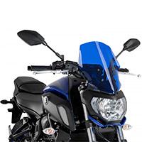 Bulle Puig Naked Touring Bleu Yamaha Mt 07