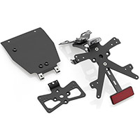 Rizoma Fox Pt665b License Plate Support Black