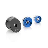 Rizoma Kit Frame Hole Caps Zbw044u Blue