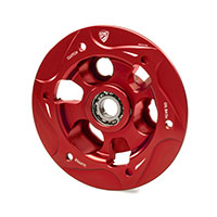 Cnc Pressure Plate Oil Bath Clutch Ducati Red