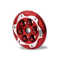 Cnc Racing Piattello Spingidisco Bmw Bicolor Rosso