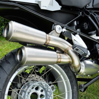 Unit Garage Double Gp-style Exhaust R1200gs Lc