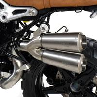 Unit Garage Doppelschalldämpfer BMW R1200 Nine-T Scrambler - 4