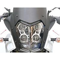 Unit Garage 3214 Deflectors Pair Black Matt