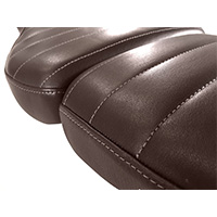Unit Garage Leather Saddle Cover