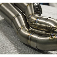 Zard Kit Completo 2>1>2 Full Titanio Racing Ducati Monster 1200 - 4
