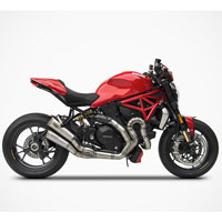 Zard Kit Completo 2>1>2 Full Titanio Racing Ducati Monster 1200