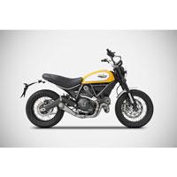 Zard Kit Completo 2>1 Inox Ducati Scrambler