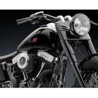 Rizoma Cylinder Head Covers Harley-davidson Black