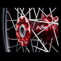 Kite Complete Rear Weel Elite 1.85x19red/green-kawasaki Kxf250 03/16 Kx 03/08 - 5