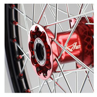 Kite Complete Front Wheel Elite 1.60x21 Red/green-kawasaki Kxf250-450 06/16 Kx06/08