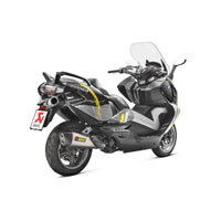 Akrapovic S-b6so8-hzaat Slip-on Titanium Bmw C650 Gt