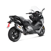Akrapovic S-b6so7-hzaat Slip-on Titanio Bmw C650 Sport