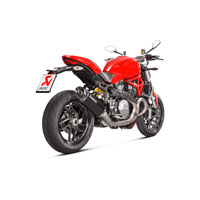 Akrapovic Silenziatore Slip On Ducati Monster 1200/1200s Nero