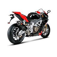 Akrapovic Slip On Carbonio Racing Rsv4 2014