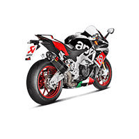 Akrapovic Slip On Carbonio Racing Rsv4 2016