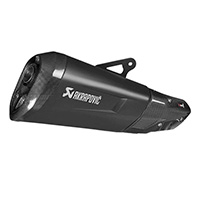 Akrapovic Muffler Ce Approved Slip On Line Euro 4 Titanium Black Bmw S1000xr