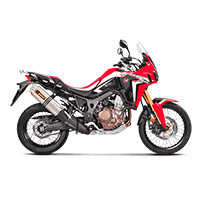 Akrapovic Slip On Racing Titanio Honda Africa Twin