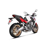 Scarico Akrapovic Inox Ce Honda Cb650f 2015 - 3