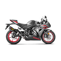 Akrapovic Slip On Carbonio Euro 4 Gsxr 1000