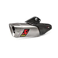 Akrapovic Slip On Titanio Omologato Yamaha Yzf R1
