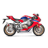 Akrapovic Slip-on Line (titanium) Exhaust Approved Honda Cbr1000rr 2017/2018
