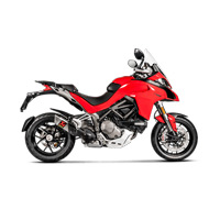 Akrapovic Slip-on Line Titanium Exhaust Ducati Multistrada 1260 2018