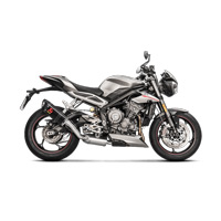 Akrapovic Slip-on Line Carbon Exhaust Triumph Street Triple 765 2018