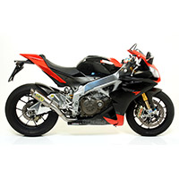 Terminale Arrow Gp2 Racing Titanio Rsv4 2009
