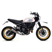 Arrow Pro Race Ducati Scrambler 800 チタン