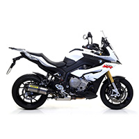 Arrow Alluminum Black Race-tech Exhaust Carbon End Cap Bmw S1000xr