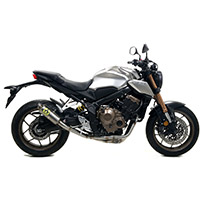 Terminale Arrow Gp2 Racing Titanio Honda Cb 650r