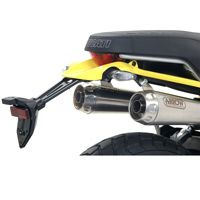 Arrow Terminali Pro Race (coppia) Fondello Nichrom Inox Scrambler 1100 2018 - 4