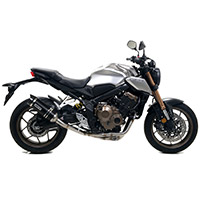 Arrow Thunder Alluminio Nero Carby Honda Cb 650r