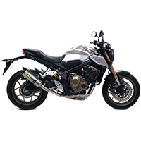 Arrow Thunder Alluminio Carby Honda Cb 650r