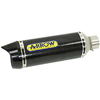 Arrow Thunder Carbonio Fondello Carby Yamaha Mt-07