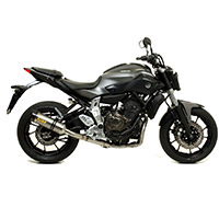 Arrow Thunder Alluminio Carby Yamaha Mt-07