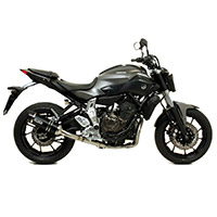 Arrow Thunder Alluminio Nero Carby Yamaha Mt-07