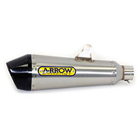 Arrow X Kone Inox Fondello Carby Yamaha Mt-07