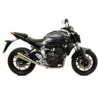 Arrow X Kone Inox Nero Fondello Carby Yamaha Mt07