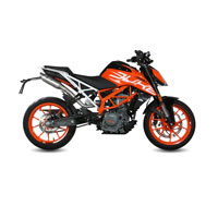 Mivv High Link Pipe Ktm 390 Duke 2017 No Cat