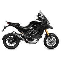 Mivv Delta Race Negro Inox Ducati Multistrada 1200 10/14