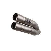 Mivv Double Gun Titanio Slip On Cb 1000r 2015