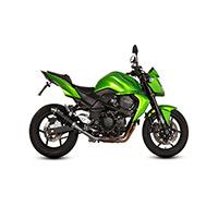 Mivv Gp Nero Inox Omologato Slip On Kawasaki Z 750