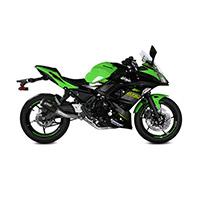 Mivv Mk3 Black Steel Racing Full Exhaust Ninja 650