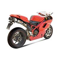Mivv Suono Inox Omologato 2 Slip Ons Ducati 1098