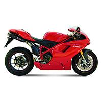 Mivv Suono Nero Inox 2 Slip Ons Ducati 1098