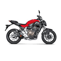 Exhaust Carbon Akrapovic Racing Yamaha Mt07