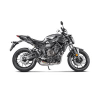 Exhaust Titan Akrapovic Racing Yamaha Mt07