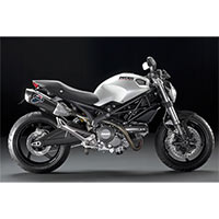 Termignoni Scarichi Racing Carbonio Ducati Monster 696 E 1100